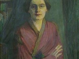 Ida GerhardiFrauenbildnis, 1903Öl auf Leinwand, 90 X 60 cm Märkisches Museum Witten, (Foto: Tanja Murczak)