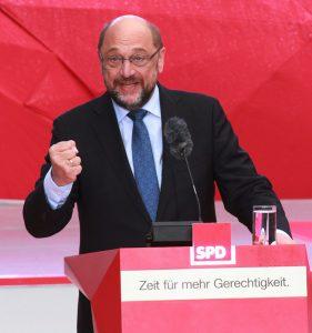 Gast beim Jajhresempfangd er SPD im Forum: Martin Schulz (Foto: wiki commons Cristallkeks by CC BY-SA 4.0)
