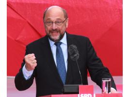 Gast beim Jahresempfang der SPD im Forum: Martin Schulz (Foto: wiki commons Cristallkeks by CC BY-SA 4.0)