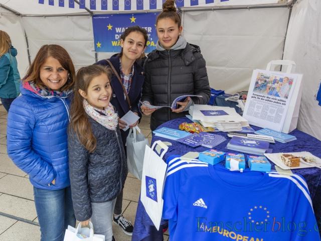 Auch die Aydaco-Gruppe darf natürlich beim Europatag nicht fehlen. (Foto: P. Gräber - Emscherblog)