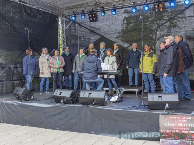 Der Konzertchor Cantabile zeigt sich ebenfalls pro-europäisch mit seinem Repertoire. (Foto: P. Gräber - Emscherblog)