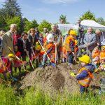 Wunder geschehen immer wieder: Offizieller Spatenstich für neue Kita im Emscherpark