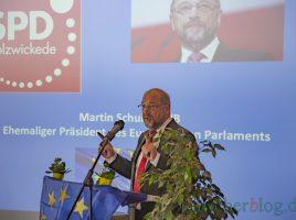 Hielt ein flammendes Plädoyer für Europa beim Jahresempfang der SPD Holzwickede: der ehemalige Präsident des EU-Parlaments Martin Schulz (MdB). (Foto: P. Gräber - Emscherblog)