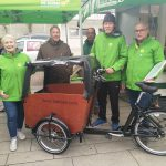 Holzwickeder Grünen verleihen neues E-Lastenrad kostenlos