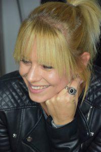 Jini Meyer, Ex-Frontfrau der Pop-Band Luxusklärm, wird den Schlosshof rocken. (Foto: Agentur)