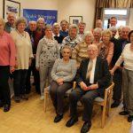 Senioren-Begegnungsstätte: Fröhliche Runde feiert 75. Geburtstagsnachfeier