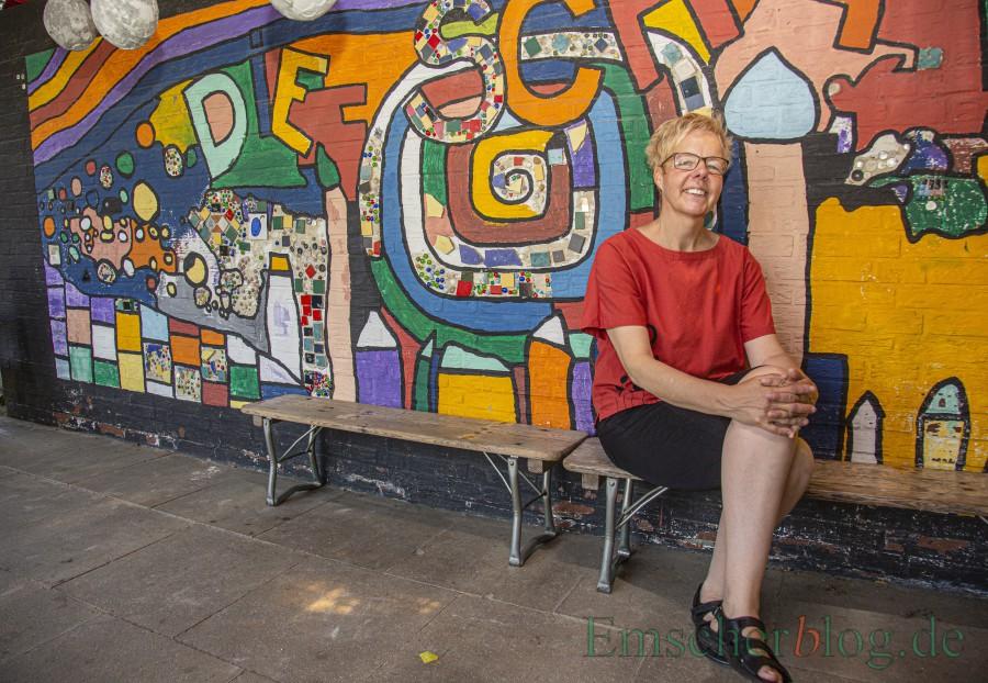 Wird am kommenden Sonntag (16. Juni) als Leiterin des Kindergartens Schatzkoiste entpflichtet: Dorothea Richwinn-Diera.  (Foto: P. Gräber - Emscherblog)