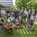 Sieben Förderschüler qualifizieren sich für Garten- und Landschaftsbau