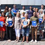 Feierstunde zur Einbürgerung: Kreis heißt 22 Neubürger willkommen