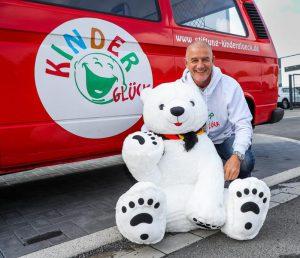 Gründer und 1. Vorsitzender des Vereins Kinderglück e.V.: Bernd Krispin. (Foto: Kinderglück e.V.)