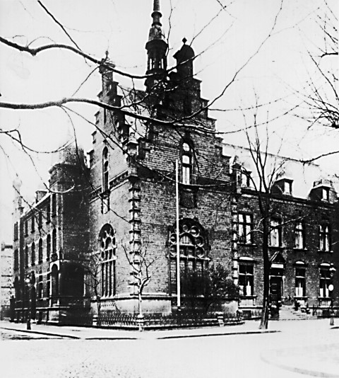 Ständehaus in Bochum, , wo die Emschergenossenschaft 1899 gegründet wurde.(Quelle: Archiv Emschergenossenschaft)