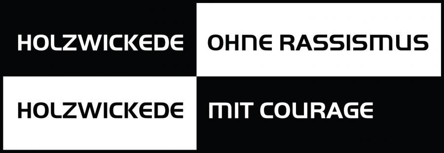 Logo Gemeinde ohne Rassismus - Gemeinde mit Courage.