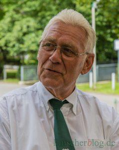 Letzter regulärer Vorsitzender und aktueller Kaiser des BSV: Karl-Heinz Pakusch. (Foto: P. Gräber - Emscherblog)
