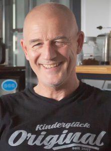 Gründer und Vorsitzender des Vereins Kinderglück e.V.: Bernd Krispin. (Foto: P. Gräber - Emscherblog)