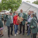 Karl-Heinz Pakusch mit 527. Schuss neuer Kaiser der Bürgerschützen