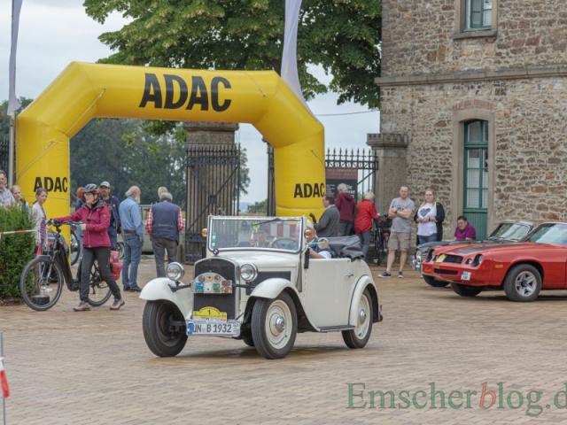 Mit 87 Jahren das älteste Fahrzeug im Feld: ein BMW AM4 Roadster aus dem Jahr 1932. (Foto: P. Gräber - Emscherblog)