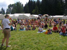 In Zusammenarbeit mit dem KreisSportbund unterstützt Kinderglück e.V. auch Freizeiten im Sportcamp in Hachen/Sauerland. (Foto: Kinderglück e.V.)