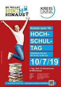 Plakat zum Hochschultag Kreis Unna.