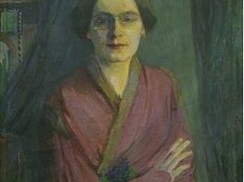 da GerhardiFrauenbildnis, 1903Öl auf Leinwand, 90 X 60 cmMärkisches Museum Witten, Foto: Tanja Murczak