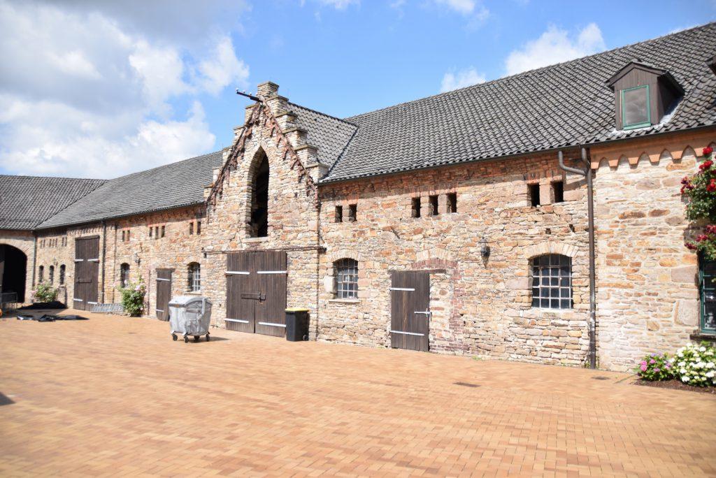 Im ehemaligen Schafstall von Haus Opherdicke (Bild) soll eine Werkstatt eingerichtet werden. (Foto: Kreis Unna)
