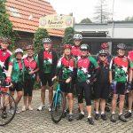 Radsportler des HSC unternehmen Trainingsfahrt am Niederrhein