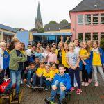 Kinder der Karl-Brauckmann-Schule und Aloysiusschule feiern gemeinsames Spielfest