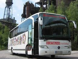 Dortmund-Rundfahrt mit dem Reisebus.