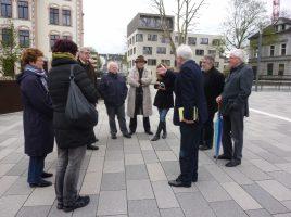 Die deutschen und französischen Autoren bei ihrem Besuch im Kreis Unna: Am 19. September lädt die Autorenrunde auch auf Haus Opherdicke zu einer Lesung. (Foto: privat)