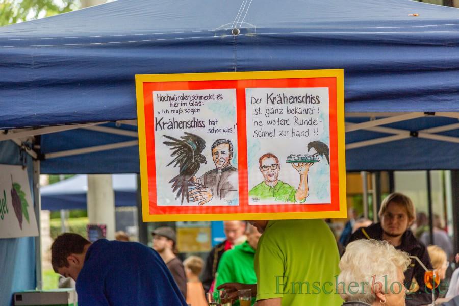"""Auch der beliebte """"Krähenschiss"""" wird wieder im Angebot sein. (Foto: P. Gräber - Emscherblog)"""