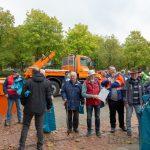 Fleißige Helfer des Seniorenbeirates sorgen für sauberes Holzwickede