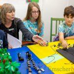 Treffpunkt Villa wird zum Filmstudio: Kinder produzieren Lego-Trickfilm
