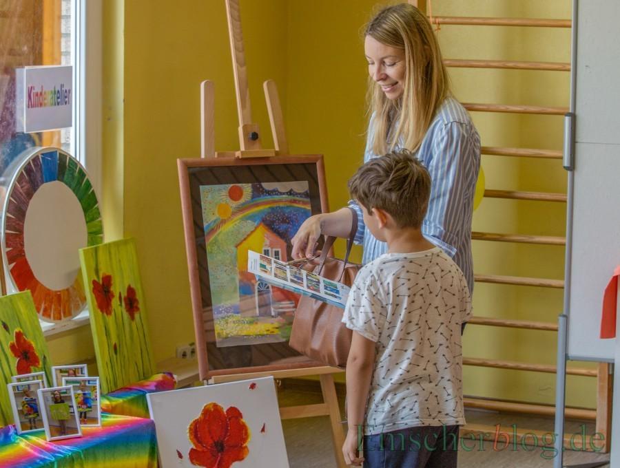 Kinder wollen mit entscheiden und mithandeln - wie hier beim Sommerfest in der Kita Löwenzahn. (Foto: P. Gräber - Emscherblog.de)