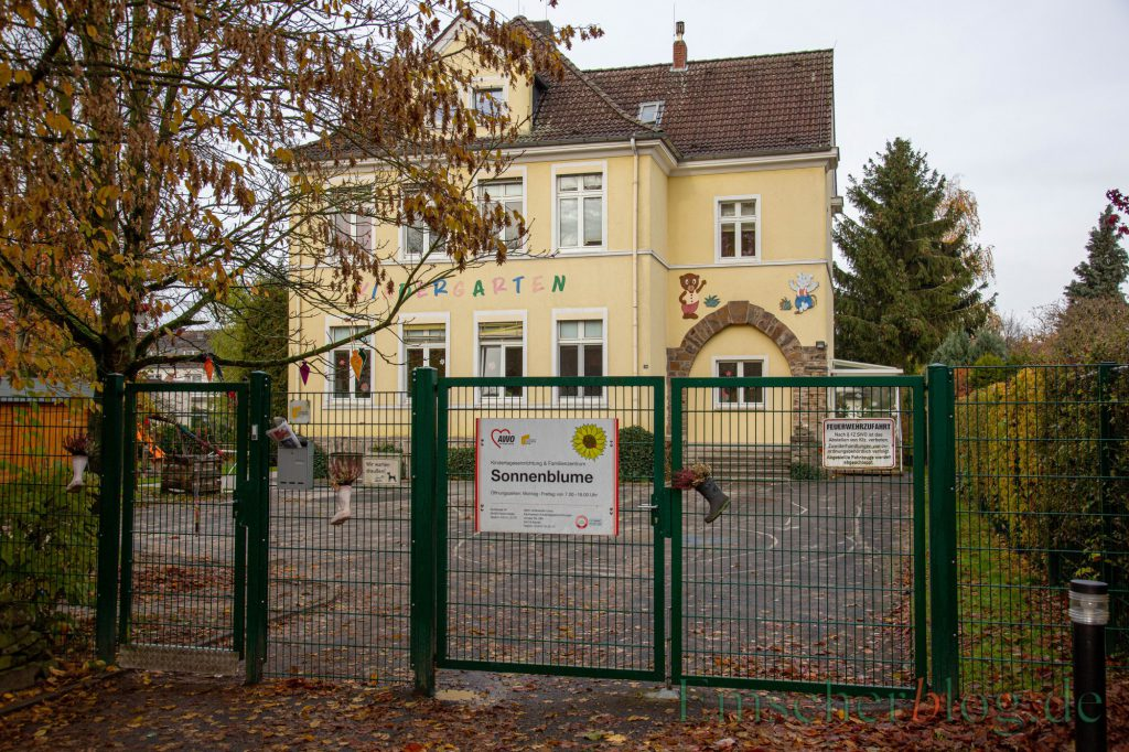 Die Folgenutzung der Immobilie beschäftigt derzeit die Politik. SPD und auch FDP haben jetzt eigene Anträge dazu gestellt. der AWO-Kindergarten in Opherdicke. (Foto: P. Gräber - Emscherblog.de)
