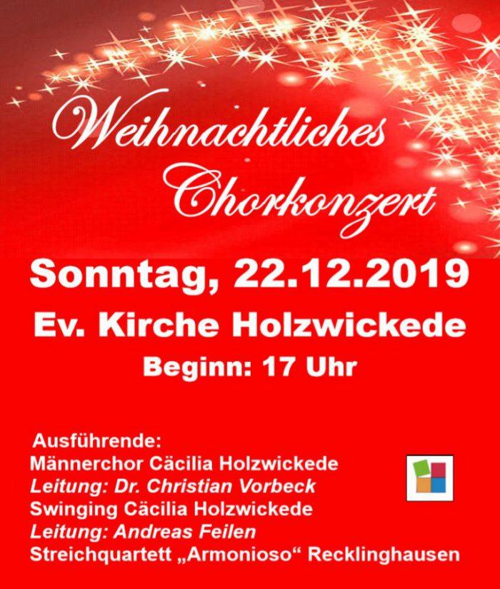 Weihnachtliches Chorkonzert mit den Cäcilia Chören