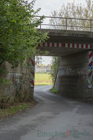 Die Grünen fordern einen Radweg entlang der Schäferkampstraße von der Unterführung bis zur Sölder Straße. (Foto: P. Gräber - Emscherblog.de)