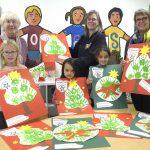OGS-Kinder der Nordschule gestalten Plakate für Aktion Weihnachtsgeld
