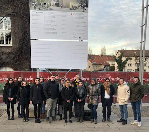 """Studentischer Besuch von der <span class=""""caps"""">TU</span> Dortmund"""