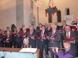 Der MGV Eintracht Hengsen lädt zu seinem Weihnachtskonzert am 3. Advent in die ev. Kirche Opherdicke ein. (Foto: MGV Eintracht Hengsen)