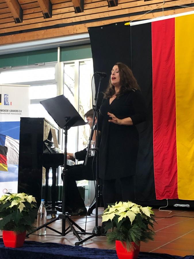 Begeisterte mit ihrer virtuosen und ausdrucksvollen Stimme: Véronique Elling (Foto: privat)