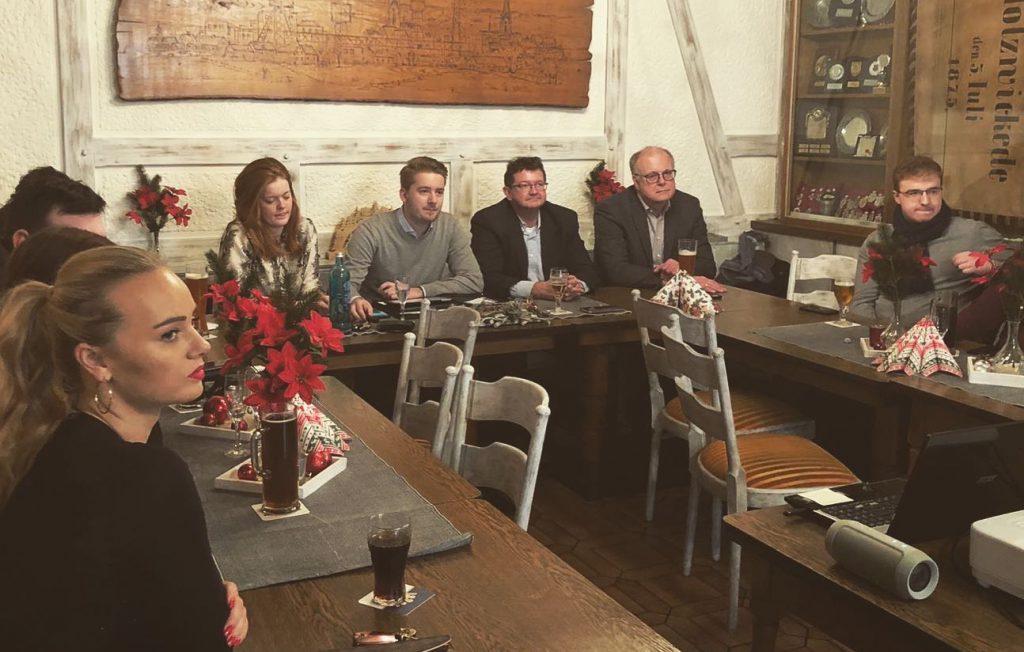 In der Mitgliederversammlung der Jungen Union konnte der Vorsitzende Marcal Zilian auf ein erfolgreiches Jahr zzurückblicken. (Foto: privat)