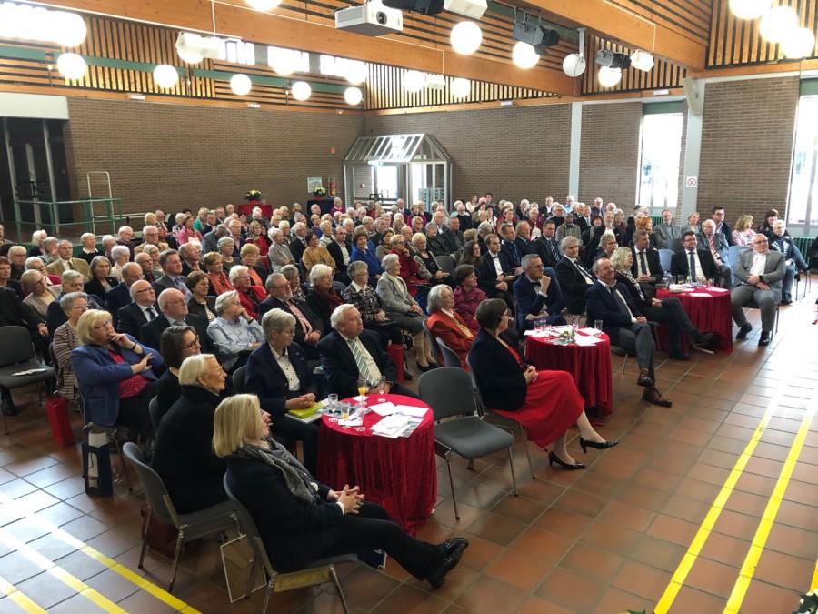 Etwa 200 geladene Gäste konnte der Freundeskreis zu seinem Jubiläum im Fortum empfangen. (Foto: privat)