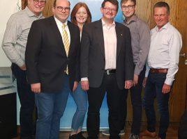 Das Foto zeigt die frischgewählten Vertreter der CDU, v.l.: Dieter Buckemüller, Jan-Eike Kersting, Nele Buckemüller, Frank Lausmann, René Winkler und Frank Markowski. Foto: privat)