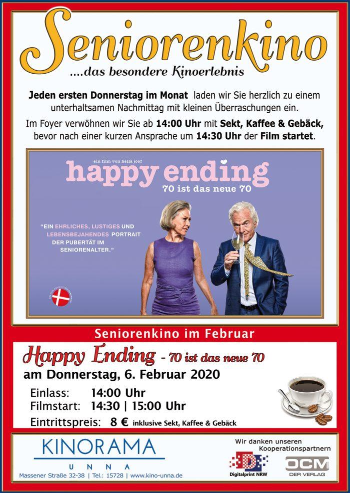 "Seniorenkino im Kinorama: ""Happy Ending – 70 ist das neue 70"""