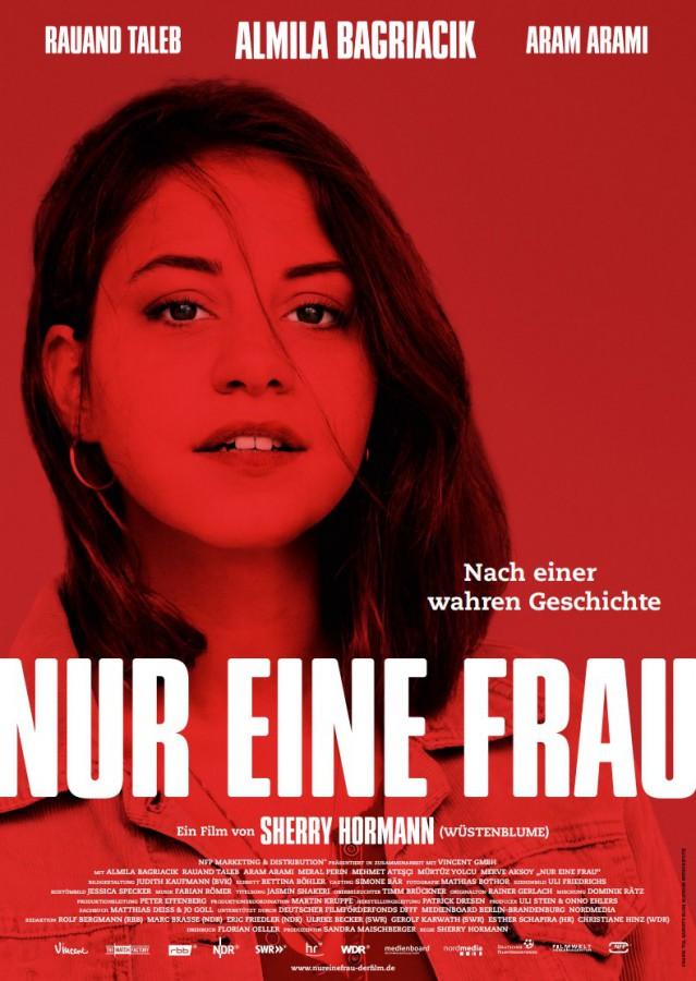 """Filmplakat zum Film """"Nur eine Frau""""."""