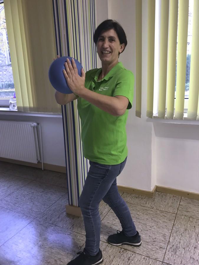 Lizensierte Reha-Trainerin der HSC-Gesundheitssportabteilung: Susanne Fotiadou. (Foto: HSC)