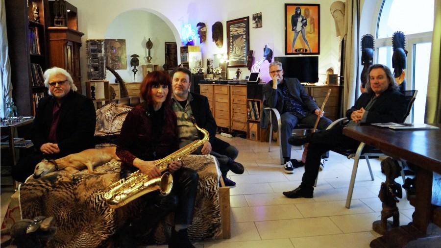 """Die Band """"Blue Terrace""""  will ihr Publikum am 20. März im Spiegelsaal auf eine spannende Reise durch die vielen Facetten der Bluesmusik mitnehmen. (Foto: Blue Terrace)"""
