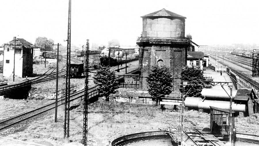 Ziel des Bombenangriffs der Alliierten vor 75 Jahren: der Verschiebebahnhof Holzwickede - der größten im Deutschen Reich. (Foto: Archiv)