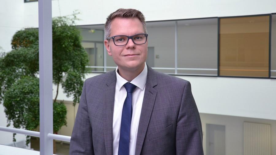 Kreisdirektor und Kämmerer Mike-Sebastian Janke. (Foto: Max Rolke – Kreis Unna)