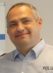 Moderiert die erste Live-Beratung im Internet: Pressesprecher und Polizeihauptkommissar Bernd Pentrop. (Foto: Kreispolizei)