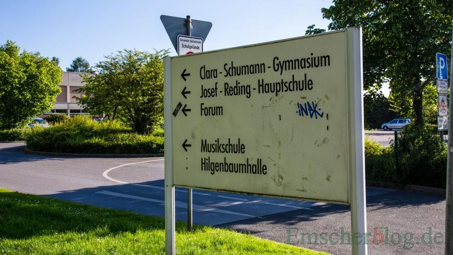 Im Schulzentrum, aber auch in allen Grundschulen sollen die Klassen mit CO2-Sensoren ausgestattet werden, die einen fälligen Luftaustausch anzeigen, so ein Antrag der SPD. (Foto: P. Gräber - Emscherblog)
